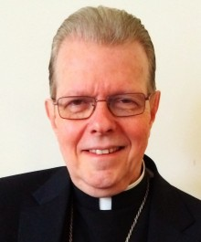 Bishop-elect Scharfenberger