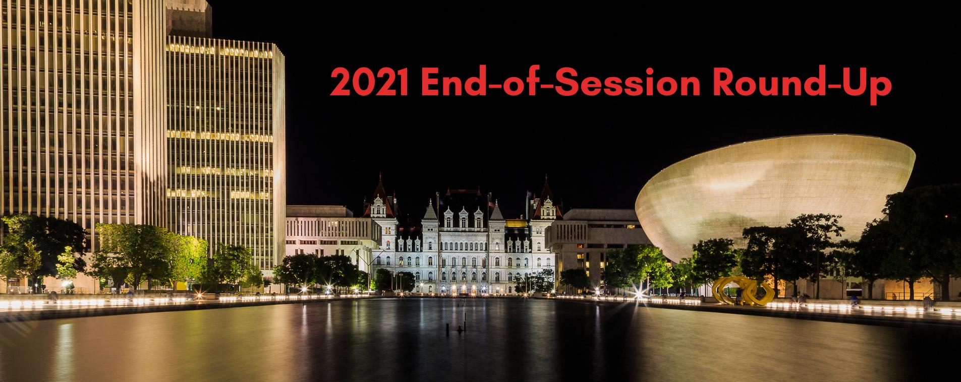 2021 End of Session Slider